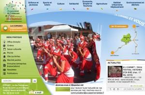 Page d'accueil de la Copamo