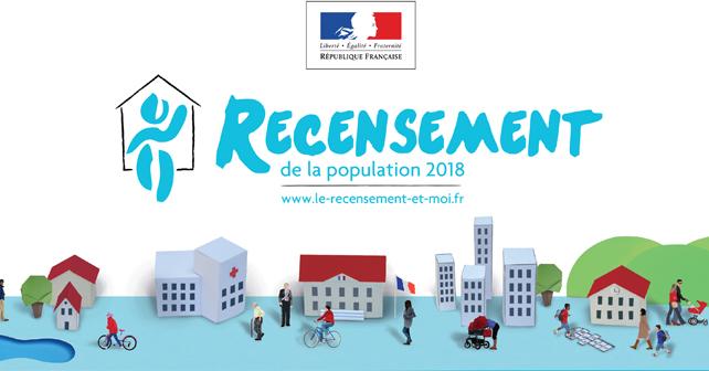RECENSEMENT DE LA POPULATION … C'est parti